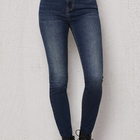 PacSun Nashville Blue Super High Rise Skinny Jeans at PacSun.com