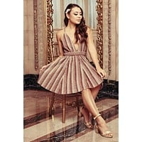 Princess For A Night Dress (Mocha)