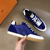 HERMES  Woman's Men's 2020 New Fashion Casual Shoes Sneaker Sport Running Shoes06090cc