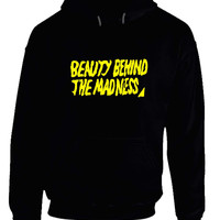 The Weeknd Beauty Behind The Madness Title Hoodie