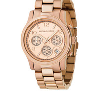 Michael Kors Rose Gold Watch - Belk.com