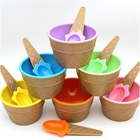 christmas 1PC kids ice cream bowls ice cream cup Couples bowl gifts Dessert [8270472065]