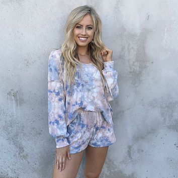 Dressed To Chill Tie Dye Set