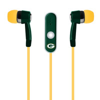 Green Bay Packers Hands Free Ear Buds W/Microphone