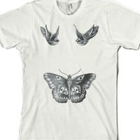 Harry Styles' Tattoos (Swallows & Butterfly) |