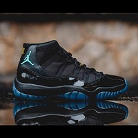 "Air Jordan 11 Retro ""Gamma Blue"" Sneakers Basketball Shoes"