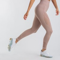 Gymshark Energy Seamless High Waisted Leggings - Taupe
