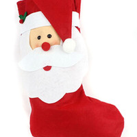 Red Santa Clause Christmas Stocking