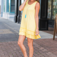 Love In Layers Dress, Buttercup