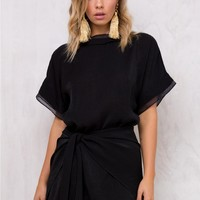 Shimmers Wrap Dress