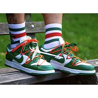Off-White x Nike Sb Dunk Low sports running shoes