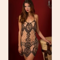 Standing Ovation Slip & Brief Set by Shell Belle Couture - designer lingerie at Fox & Rose