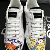 D&G Dolce&Gabbana Men Women Sneakers Sport Shoes
