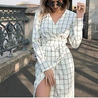 The new style is a hit for women's dresses with plaid straps
