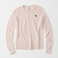 CASHMERE ICON CREW SWEATER