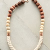Ropewood Necklace by Anthropologie in White Size: One Size Necklaces