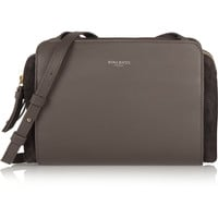 Nina Ricci - Marché Duo leather and suede shoulder bag