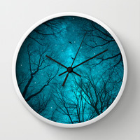 Stars Cannot Shine Without Darkness Wall Clock by soaring anchor designs ⚓
