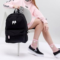 Vans X Lazy Oaf Eyeball Backpack at asos.com
