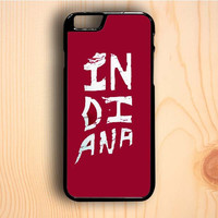 Dream colorful Indiana Hoosiers iPhone 6 Plus Case
