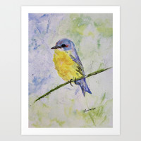 Perched Art Print by Liveart4evr