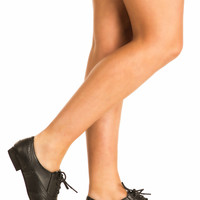 Carly Lace Up Brogues in Black