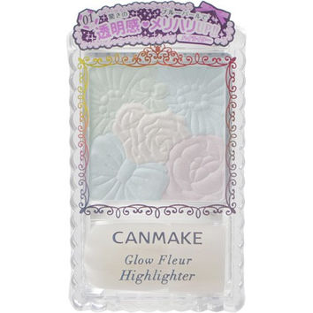 CANMAKE Glow Fleur Highlighter #02   Canmake 花瓣高光 02焕彩粉