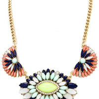 Simply Splendid Floral Necklace