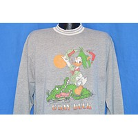 90s Donald Duck Australia G'Day Disney Sweatshirt Large