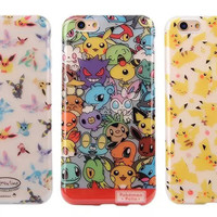 iphone6 plus Pikachu Pokemon 6s Phone Case