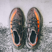 Adidas Yeezy 550 Boost 350 V2 Grey Orange