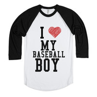 I LOVE MY BASEBALL BOY BLK