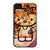 Obey Hello Kitty Design Love Cute iPhone 4/4S Case