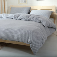 Bedroom On Sale Hot Deal Cotton Knit Bedding Set [11665651215]