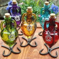 Amphora Bottles with Stand