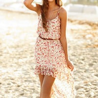 dELiAs > Floral Strappy High Low Dress > dresses > pattern
