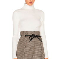 3.1 phillip lim Turtleneck Sweater in Antique White | FWRD