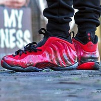 Nike Air Foamposite One Fashion Men Casual Sport Running Basketball Shoes Sneakers Red