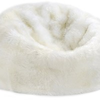 Sheepskin Bean Bag in Ivory