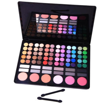 Eyeshadow Nation 78 Color Professional Beauty Kit Cosmetic Beauty Makeup Palette