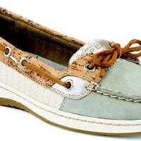 Sperry Top-Sider Angelfish Cork Slip-On Boat Shoe Grey/SilverCork, Size 6.5M  Women's Shoes