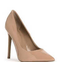 Taupe On-point Pumps