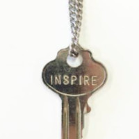 The Giving Keys- Classic XL Pendant- Silver- INSPIRE
