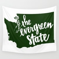PNW, Washington State Wall Tapestry by Caleb Swenson