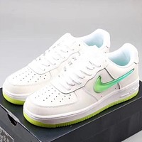 Trendsetter Nike Air force1 07'V8 Women Men Fashion Casual Old Skool Shoes