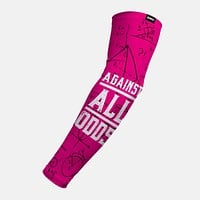 Against All Odds Pink Arm Sleeve
