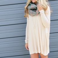Ellington Sand Piko Dress