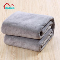 Beddom Blanket For Size 200*230cm 3 Different Colors Sofa Air Bedding Throw Solid Color And Double Faced Travel Flannel Blankets