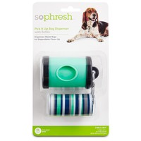 So Phresh Pick It Up Teal Dog Bag Dispenser with Refill | Petco Store
