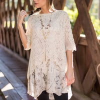 All Natural Tunic, Taupe